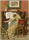 German Mother and Child at the Piano - Woldemar Friedrich.jpg