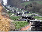 Caen hill locks - Kennet and Avon Canal Wiltshire England 001.arp.jpg