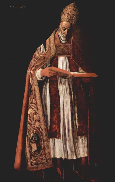 File:Pope Saint Gregory the Great - by Francisco de Zurbaran 011.jpg