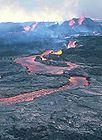 Lava channel made by lava erupting from vents on Mauna Loa volcano.jpg