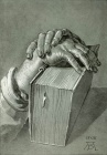 Durer - Study of hands on Bible.jpg