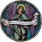 Angel with Omnes Angeliejus.jpg