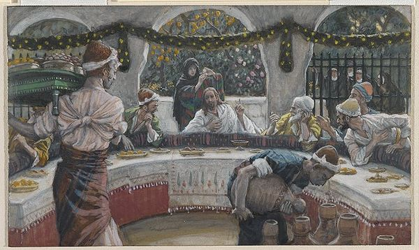 The Meal in the House of the Pharisee(Le repas chez le pharisien)Luke 7:36-39Matthew 9:10-13