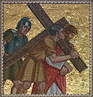 Simon of Cyrene helps Jesus carry His cross 005.jpg