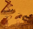 Jesus Carries His Cross - Sacrifice of Isaac 002a.jpg