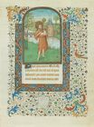 St. John the Baptist with the Lamb of Christ gold leaf and tempera on vellum page from a Book of Hours.JPG