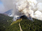 Glacier National Park Wildfires in 2003.jpg