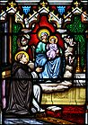 St Dominic receives the Rosary 002.jpg