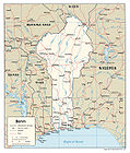 Benin Political Map 2007.jpg