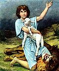 David Saves the Lamb from the Lion 001.jpg