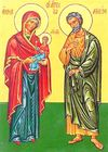 Saint Joachim - Saint Anne - Blessed Virgin Mary - Santi Gioacchino e Anna.jpg