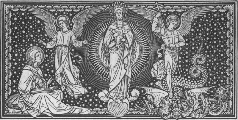 File:Blessed Virgin Mary Holding Jesus with Saint Michael and Saint Gabriel.jpg