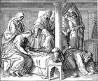 Death of the Son of King David and Bathsheba - II Samuel 12 15-23.jpg
