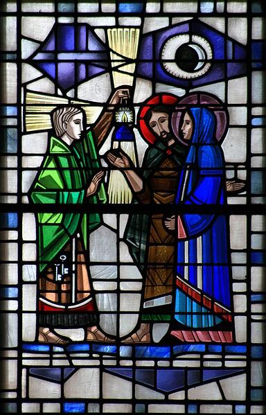 File:St. Joseph and Mary reach Bethlehem 001.jpg - The ...