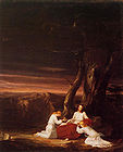 Angels Ministering to Christ in the Wilderness by Thomas Cole 1843.jpg