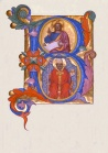 Letter B - Cenni di Francesco di Ser Cenni - Leaf from Antiphonary - Walters W15339V.jpg