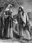 Ruth pleads with Naomi - Ruth 1 8-18.jpg