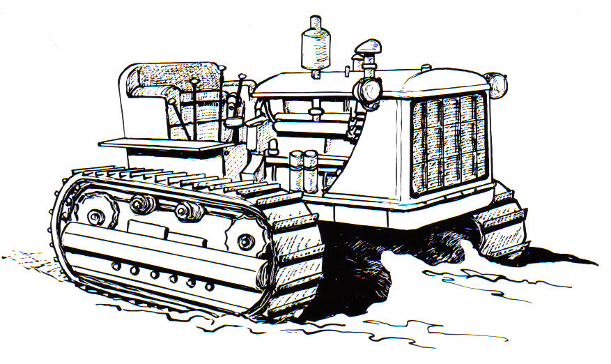 Caterpillar Tractor Coloring Pages Coloring Pages